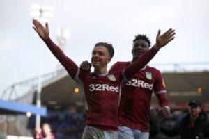 Striker Tammy Abraham has backed Jack Grealish to lead Aston Villa to Wembley.