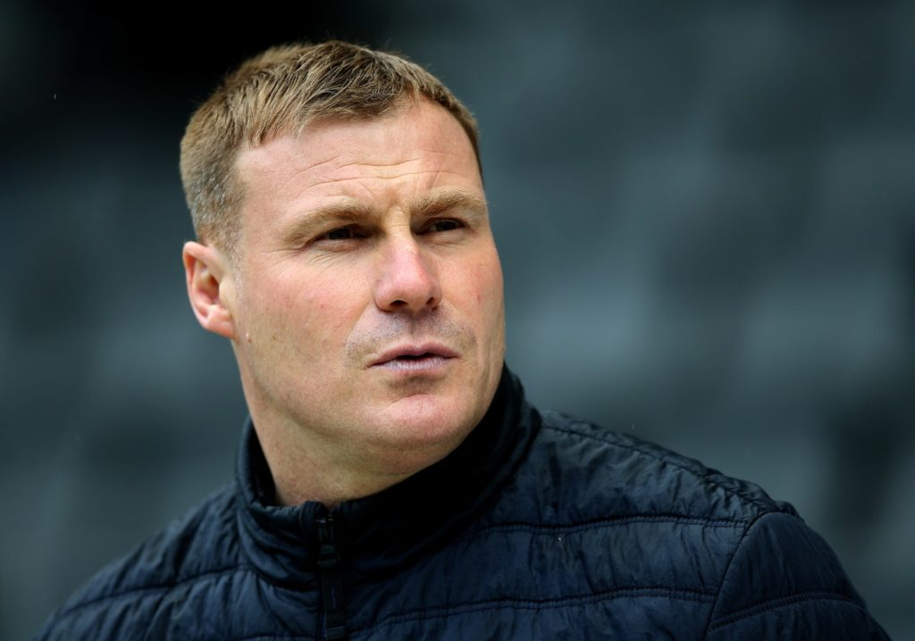 Matt Preston remains on the sidelines for Mansfield ahead of the return leg of the Sky Bet League Two play-off semi-final with Newport.