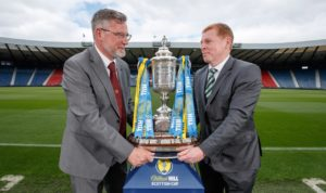 Neil Lennon has warned Celtic not to get sucked in by the triple treble hype as they prepare for their final push.