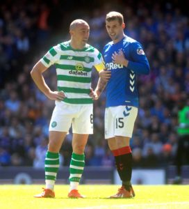 Rangers defender Jon Flanagan's two-game ban for clashing with Celtic skipper Scott Brown has been overturned on appeal.