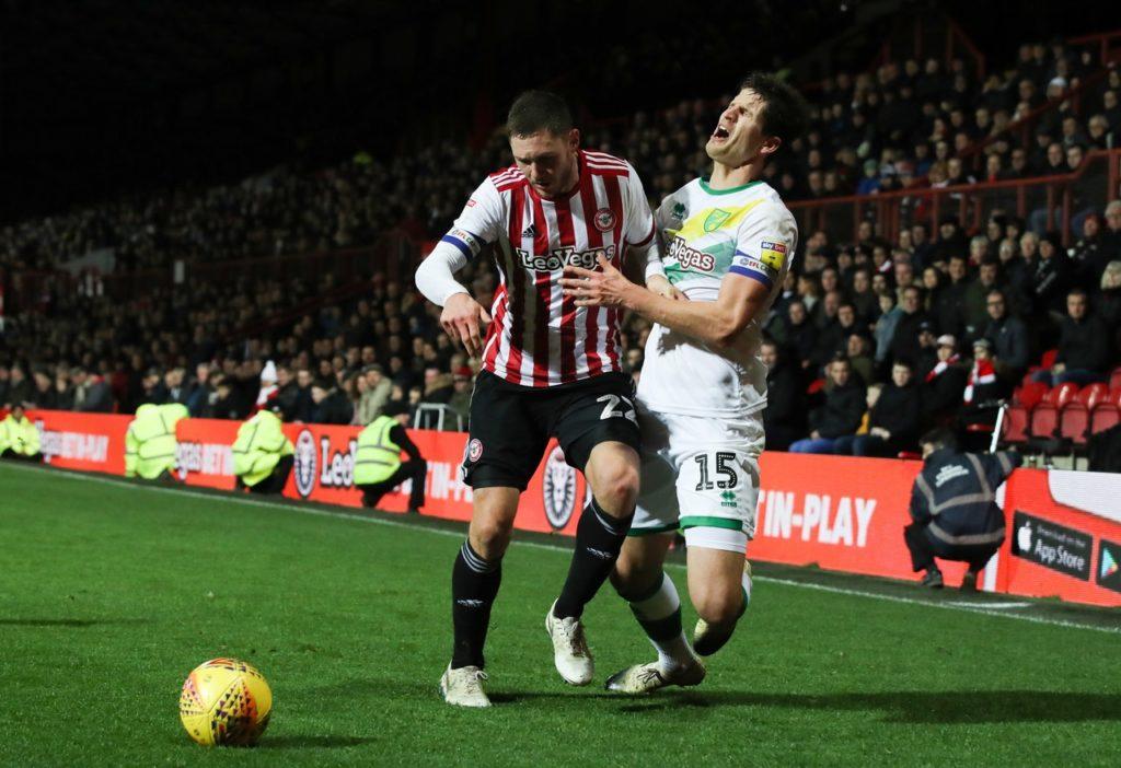 Brentford defenderHenrik Dalsgaard is back in contention for the home game against Preston after suspension.
