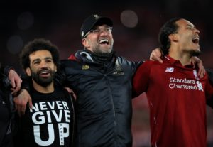 Jurgen Klopp is hoping for one last football miracle as Liverpool look to snatch the Premier League title this afternoon.