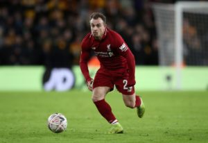 Xherdan Shaqiri says he is 'looking forward' to Liverpool's last game of the season at home to Wolverhampton Wanderers on Sunday.