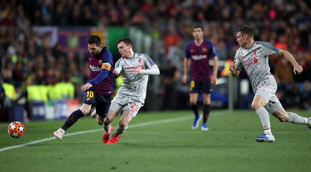 Liverpool defender Andy Robertson insists they will continue to fight as they look to end the season with two trophies.