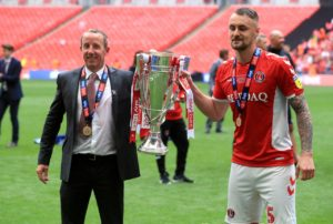 Lee Bowyer believes Patrick Bauer's promotion-winning goal hands Charlton a lifeline in their bid to retain their captain next season.