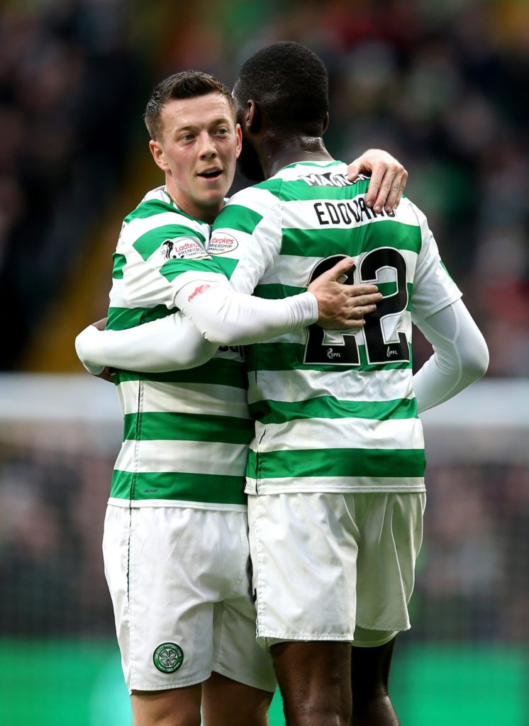 Celtic are celebrating their eighth straight title - and the club's 50th in total - after a 3-0 win at Aberdeen.