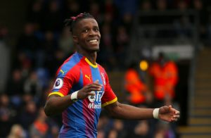 Tottenham are believed to have cooled their interest in Crystal Palace star Wilfried Zaha as the Eagles apparently want £100m for him.