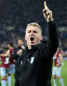 Aston Villa boss Dean Smith wants the Sky Bet Championship play-off final to be given top billing.