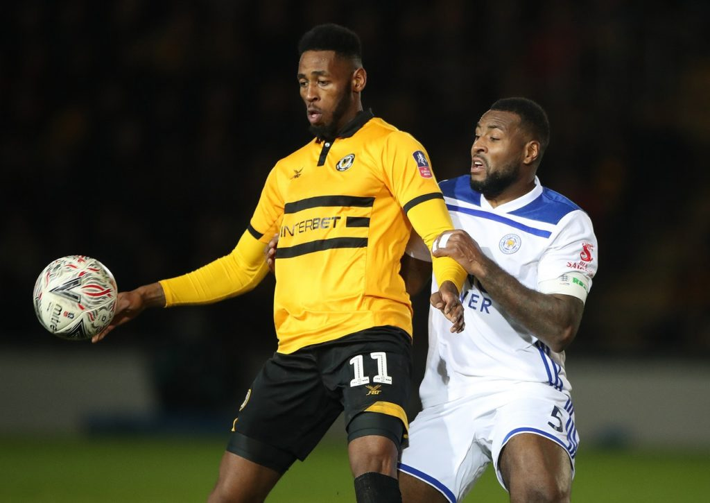 A late goal from Jamille Matt secured Newport the final play off spot in League Two as they claimed a vital point with a 1-1 draw at the Globe Arena.