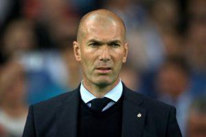 Real Madrid boss Zinedine Zidane has serious injury problems.