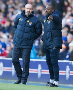 Steve Clarke would find it hard to turn down the Scotland job if he was offered it, according to his Kilmarnock assistant Alex Dyer.