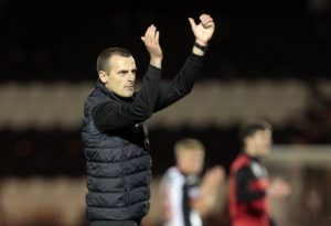 St Mirren manager Oran Kearney praised his side's battling qualities after Kyle Magennis' late goal earned them a 1-1 draw at Motherwell.