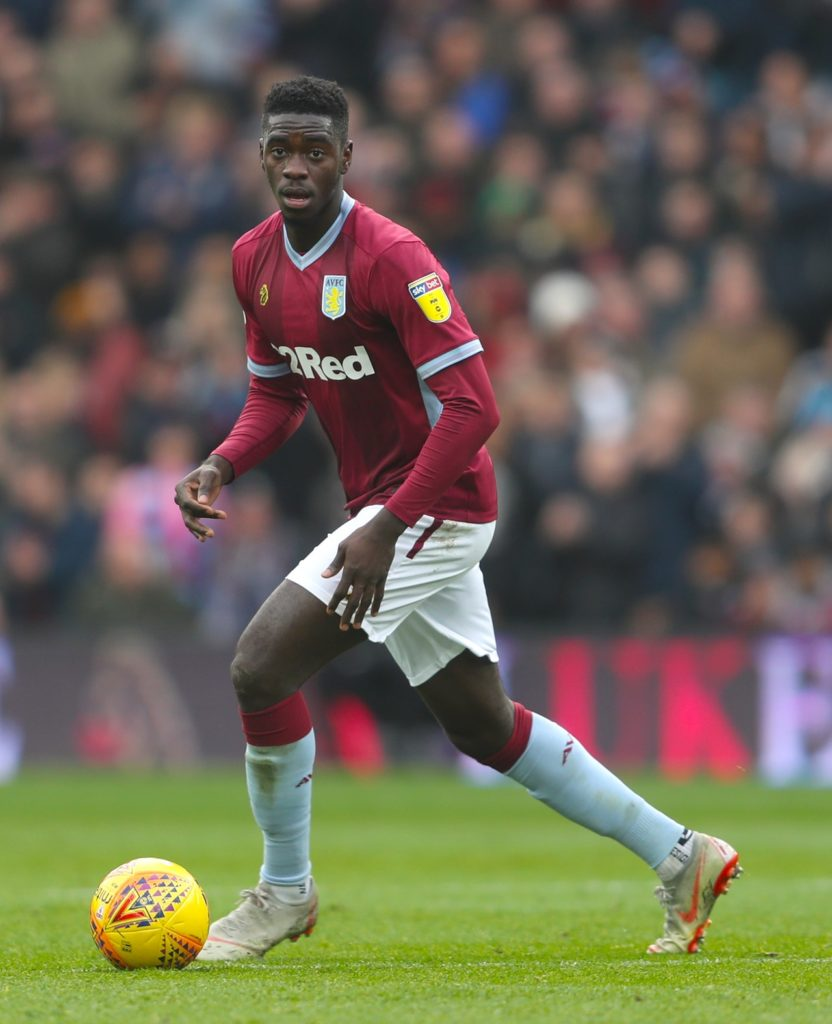 On-loan defender Axel Tuanzebe is fit for Aston Villa ahead of the Sky Bet Championship play-off final against Derby at Wembley on Monday.