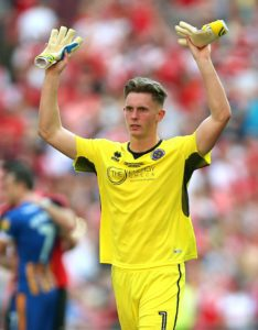 Sheffield United boss Chris Wilder admits the Blades are trying to get Manchester United's Dean Henderson signed up for next season.