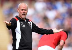 Carlisle assistant manager Tommy Wright and first-team coach Paul Murray have left the club with immediate effect.