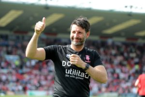 Middlesbrough are considering rivalling West Brom for Lincoln boss Danny Cowley, Press Association Sport understands.
