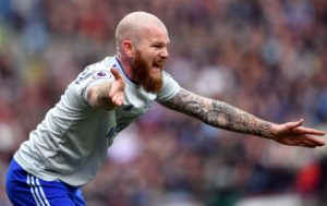 Aron Gunnarsson says it is hard to say goodbye to Cardiff City after eight years, although he admits he thought about moving in 2016.