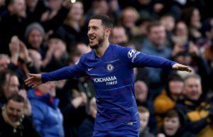 Eden Hazard scored the decisive spot-kick as Chelsea beat Eintracht Frankfurt 4-3 on penalties to reach the Europa League final.