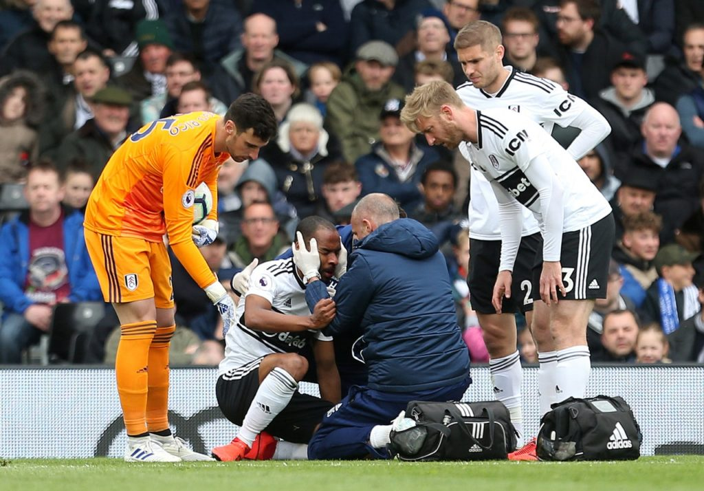 Denis Odoi could return for Fulham's final game of the Premier League season against Newcastle United at Craven Cottage.