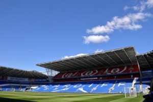 Newport have been offered use of Cardiff City Stadium to train ahead of the Sky Bet League Two play-off final.