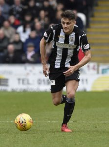 St Mirren forward Kyle Magennis admitted it felt extra special to score his first goal of the season in front of his family and friends.