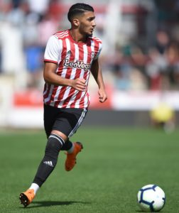 Crystal Palace could step up their interest in Brentford midfielder Said Benrahma if Wilfried Zaha moves on.