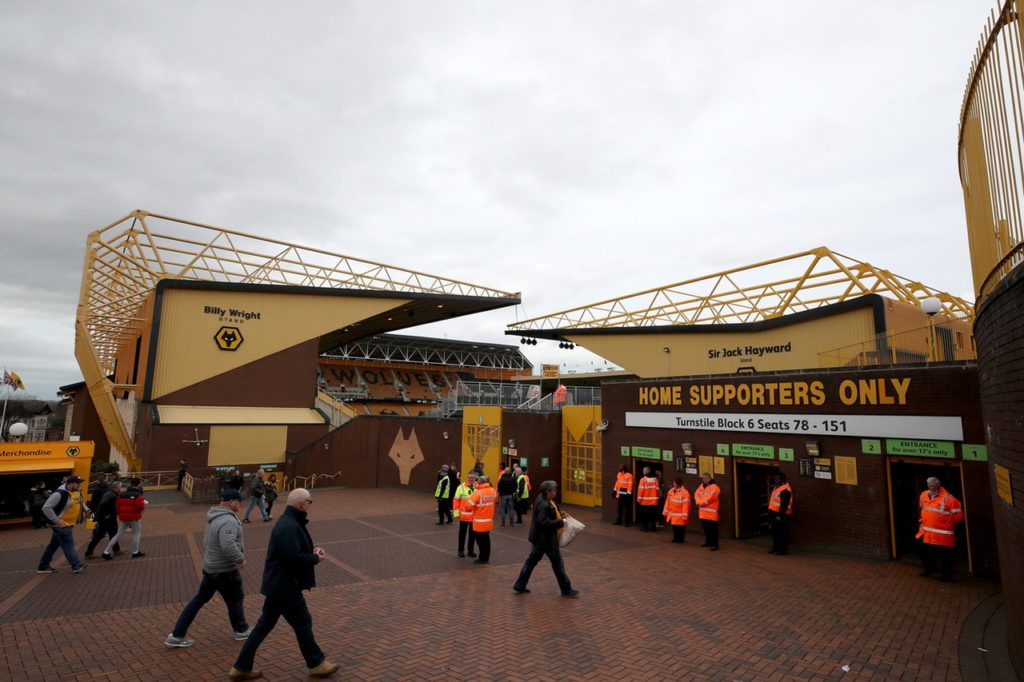 Wolves have announced a plan to become the first club in the United Kingdom to install rail seats in an entire stand at their ground.