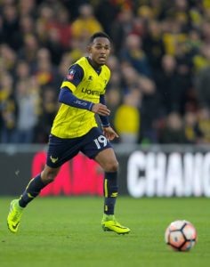 Oxford striker Rob Hall has signed a one-year contract extension as he attempts to get his career back on track, the League One club has announced.