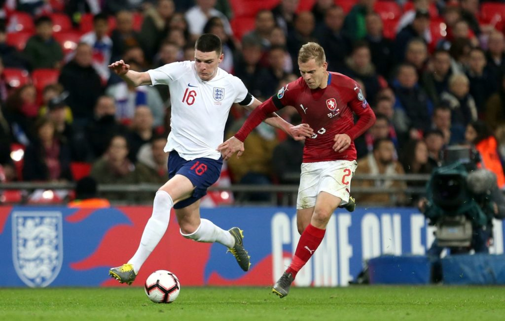 Declan Rice is looking for a big season with West Ham in 2019-20 and hopes to get the call to play for England this summer.
