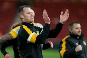 Newport manager Michael Flynn is hoping to add a promotion to his CV as he takes his side to Wembley for the League Two play-off final.