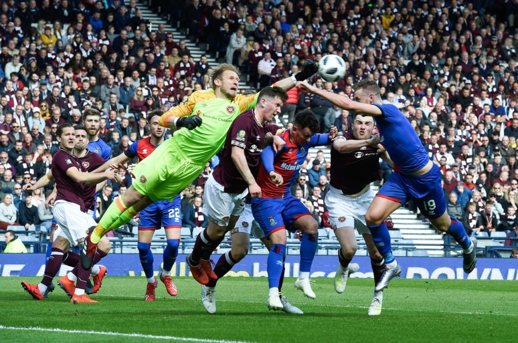 Jordan White's double ensured Inverness claimed first blood in the opening leg of their Ladbrokes Premiership play-off quarter with a 3-1 win over Ayr.