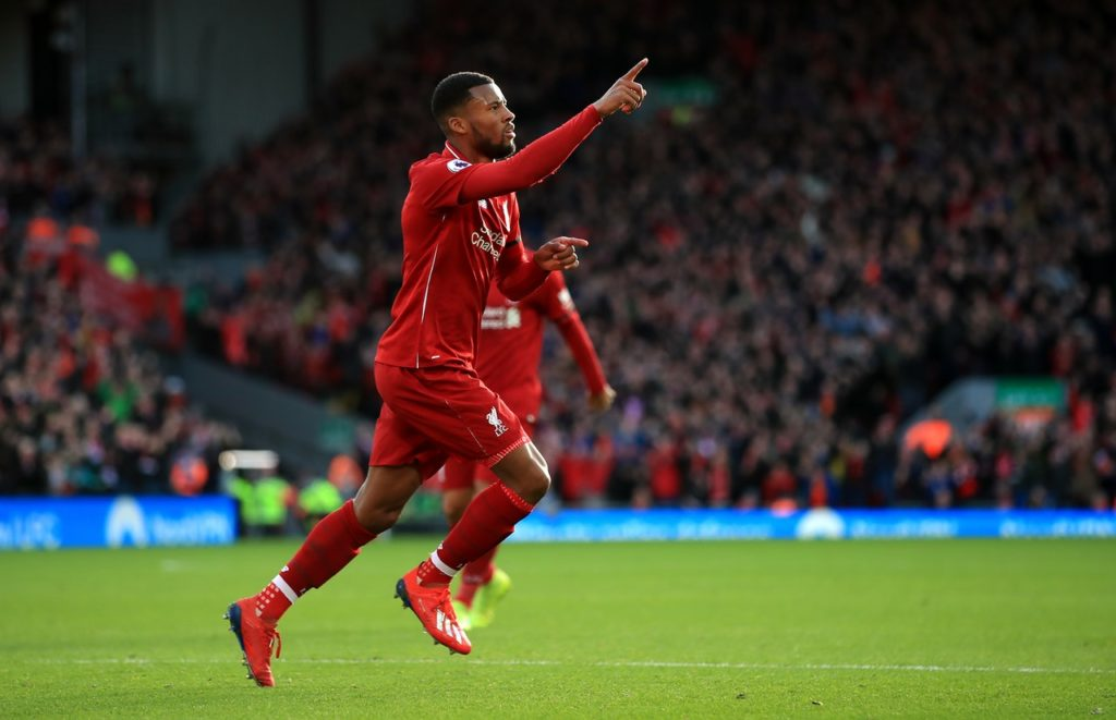 Georginio Wijnaldum has urged Liverpool to deal with their European heartache when they take on Newcastle United on Saturday.