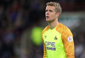 Huddersfield keeper Jonas Lossl has joined Everton on a free transfer, with him due to join the club on July 1.