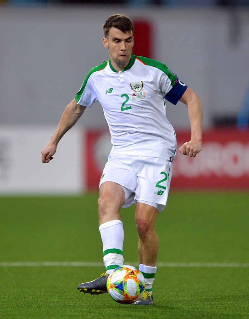 Republic of Ireland captain Seamus Coleman is relishing the chance to take on Denmark and has spoken of his belief in the squad.