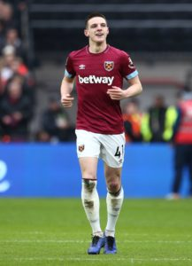 Manuel Pellegrini has admitted that he 'cannot say' if Declan Rice will still be at West Ham when the new season starts in August.