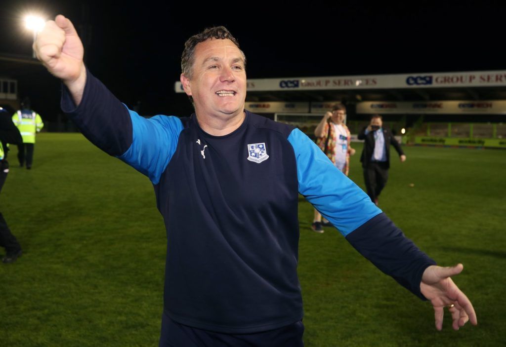 Tranmere manager Micky Mellon says his squad are in good shape as they prepare for Saturday's League Two play-off final against Newport.