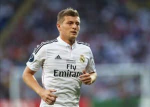 Real Madrid have announced that midfielder Toni Kroos has signed a one-year contract extension until the summer of 2023.