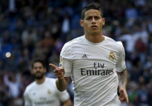 Liverpool, Manchester United and Tottenham are all believed to be monitoring James Rodriguez's situation at the Santiago Bernabeu.
