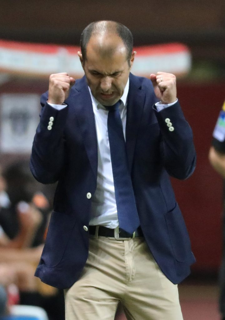 Leonardo Jardim praised his Monaco players as they battled back to earn a crucial point in a 2-2 draw against Rennes.