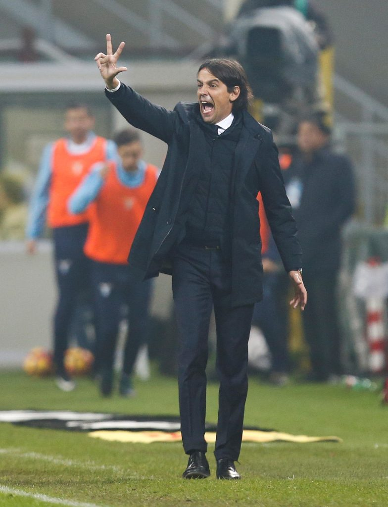 Lazio coach Simone Inzaghi is reportedly deciding between two potential formations for Wednesday's Coppa Italia final against Atalanta.