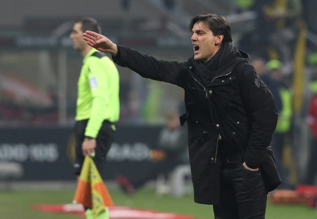 Fiorentina boss Vincenzo Montella will miss his side's relegation battle with Genoa after being given a two-game ban.