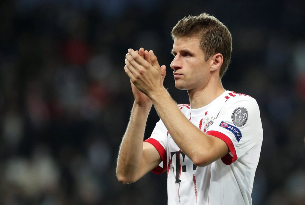 AC Milan and city rivals Inter are believed to be interested in signing Bayern Munich forward Thomas Muller this summer.