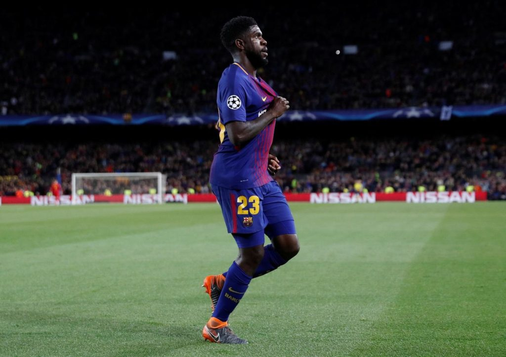 Arsenal have been linked with a summer move for Barcelona defender Samuel Umtiti.