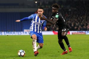 Pape Souare is reportedly on his way back to France with just over a month left on his Crystal Palace contract.