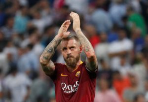 Roma have confirmed that veteran midfielder Daniele de Rossi will leave the club at the end of the season to pursue a new challenge.