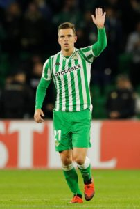 Everton and Tottenham are chasing a deal for Real Betis midfielder Giovani Lo Celso.