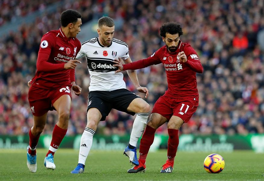 Calum Chambers says Fulham's trip to Liverpool in November was, on a personal note, the turning point in his season.