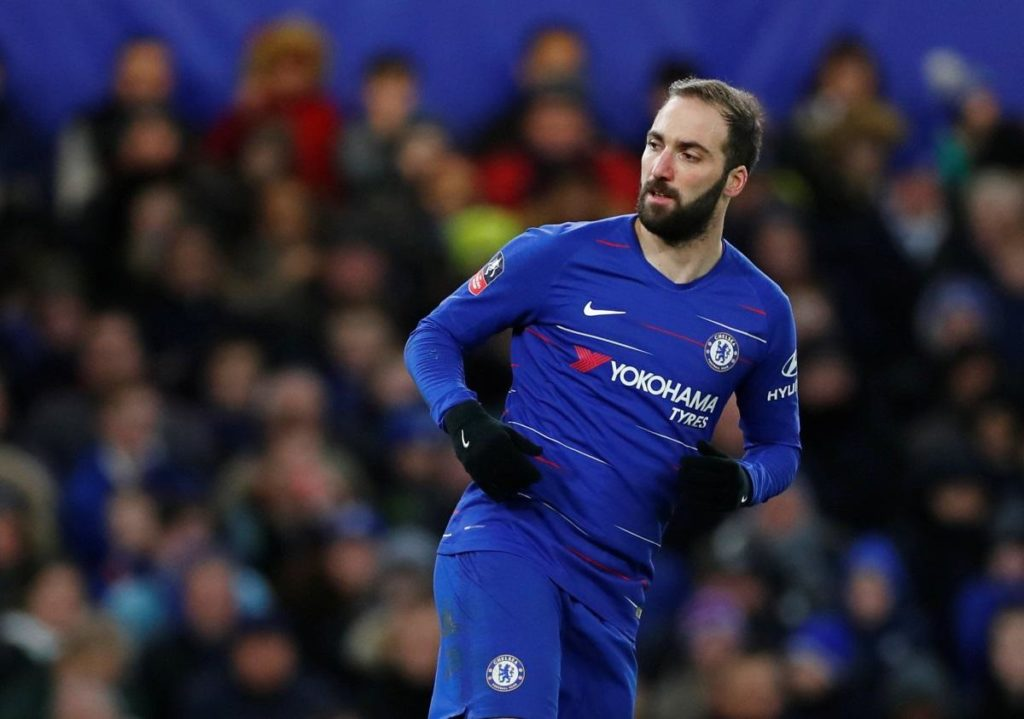 According to reports, Chelsea will not take up the option to sign on-loan striker Gonzalo Higuain permanently this summer.