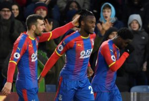 Michy Batshuayi scored twice as Crystal Palace won at home for only the fifth time this term by beating Bournemouth 5-3 in a thriller.