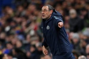 Chelsea boss Maurizio Sarri insists he is 'very happy' at the club amidst fresh speculation he could leave this summer.